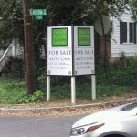 Northwest Florida Real Estate Signs post panel outdoor real estate 150x150